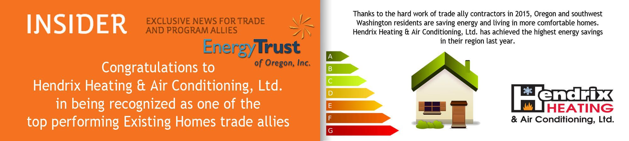 Hendrix Heating & Air Conditioning works with Trane AC products in Albany OR.