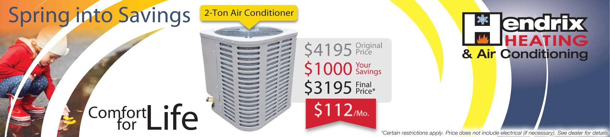 Trust your home comfort to us for your next Air Conditioner in Albany OR
